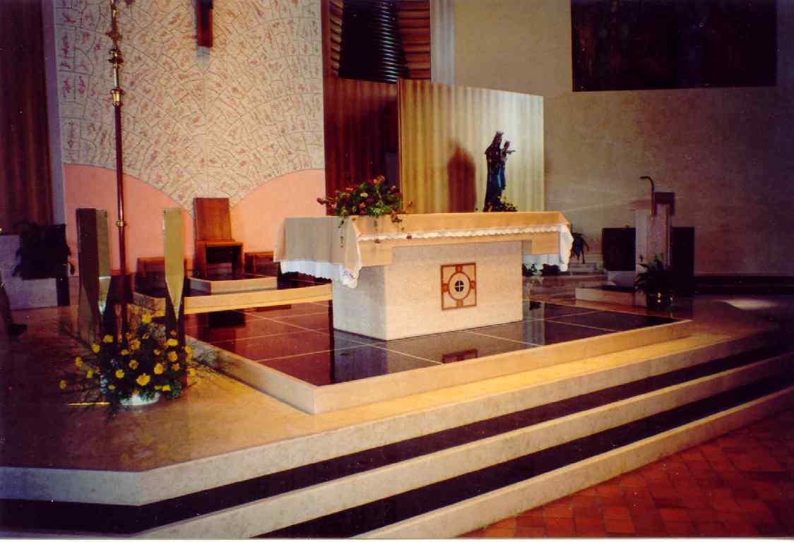 Pietro pasin altari for Arredo sacro cruciverba